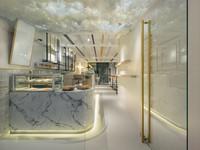 台北質感咖啡廳多一枚 「光扉五號」天花板雲朵拍不停