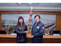 全國飆獨輪運動大會 鄭文燦表揚得獎學校與全國冠軍