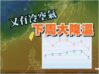 下周春來了!「鋒面+冷空氣」一波大降溫 北台變天濕冷