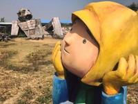 當「進擊的巨人」遇上「幾米」 台南優雅農夫藝文農場