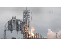 「獵鷹9號」點火~從首次登月發射台升空 馬斯克狂推文