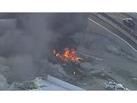 澳洲小飛機成「巨大火球」 墜毀購物中心5名乘客身亡!