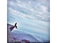 懸空照掰!宜蘭鷹石尖2.0「渭水之丘」禁攀爬