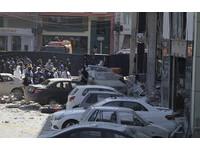 巴國高級商場爆炸10死 衝擊震碎周遭窗戶留「巨大坑洞」