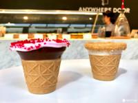 日本新開幕話題甜點! 從裡到外都能吃的「甜筒咖啡」