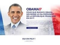 沒開玩笑!法國人民發動連署 希望「歐巴馬」來選總統