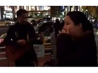 東京聽見日語《海闊天空》 她粵語跟唱...突被歌手逼哭