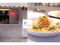 彰化小清新餐廳 粉紅奶油麵義大利麵與手工麵包