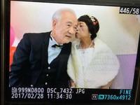 癌末奶奶安寧病房圓夢...牽手40年老伴拍下人生第一張婚紗