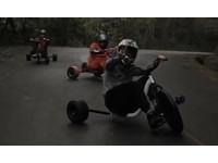 「三峽的拓海」三輪車甩尾飄移 登Discovery頻道