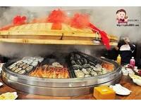 全台「最大」蒸籠在桃園!30道料理給你滿滿海鮮大平台