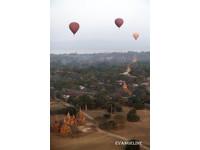坐熱氣球看日出! 升上天空眺望神秘的緬甸王朝
