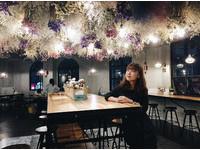 抬頭驚見乾燥花星空!花蓮新開幕咖啡廳成少女外拍熱點