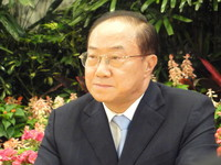 關中任楊秋興總部主委 王金平:大家要團結