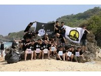 清明連假 中原大學生發起  「無垃不在拉美島」環保活動