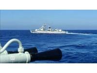 深藍亮劍 大陸軍艦赴黃岩島以西巡邏