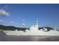 陸造「中華神盾」長春艦 加入東海艦隊