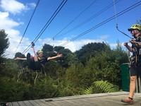 高空滑索飛越激流島 絕美紐西蘭海岸、原始叢林探險