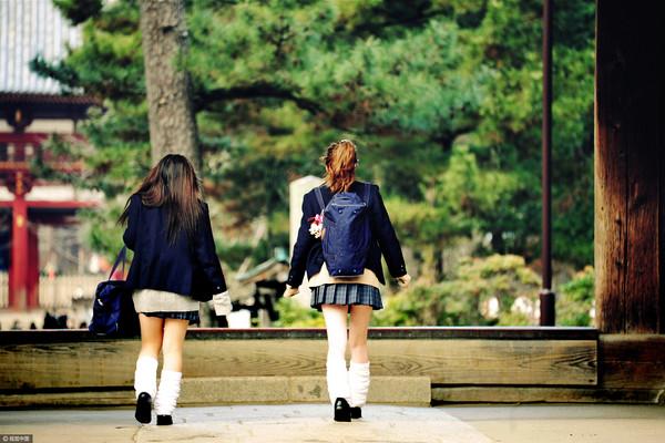 日本女高中生,日本女生,制服,偷拍,裙底,短裙(圖/示意圖,CFP)