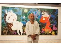 西班牙藝術大師來台辦展 85歲雷普耶斯「童趣」擊敗悲傷