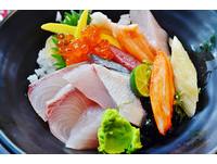 台北高CP值平價日本料理 招牌大碗生魚片蓋飯