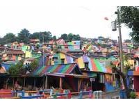 印尼也有彩虹村!大批觀光人潮湧入打卡