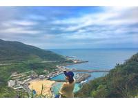 收服大武崙沙灘與漸層海洋!「老鷹岩」拍出基隆最美景