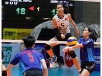 U23女排亞錦賽 中華隊複賽直落三宰香港