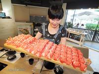 台北人氣火鍋店 72盎司超狂「制霸」大肉盤!