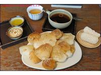 首爾茶屋的「烤麻糬」 沾肉桂蜂蜜、柚子醬超對味!