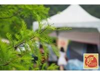 水球戰、做米粉 台中櫻花鳥森林玩親子露營!