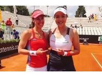 詹詠然羅馬女網賽再奪冠 聯手辛吉絲擊退奧運金牌