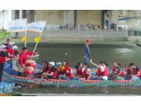 歡慶端午在臺灣 百名外籍生體驗划龍舟