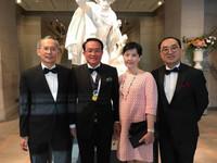 前聯合醫院總院長邱文祥 獲美泌尿科醫學會頒總統獎