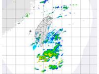 鋒面滯留巴士海峽 北部多雲天氣南部有短暫陣雨