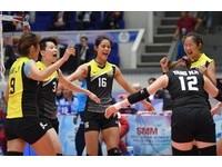 台電女排亞俱賽3連敗 29日對決日本爭四強門票