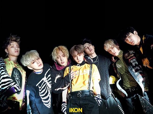 iKON新專輯成績不如預期。(圖/翻攝自iKON臉書)
