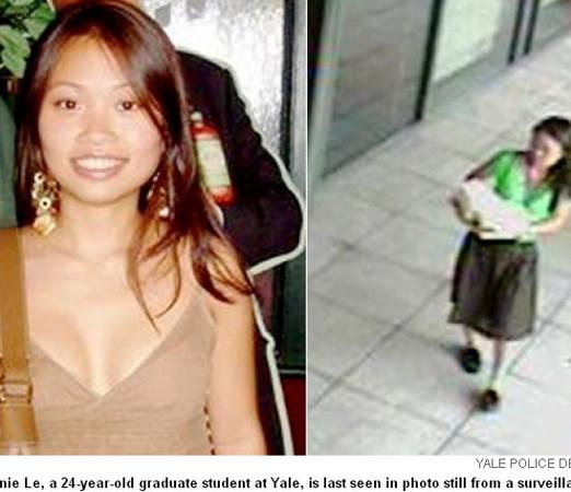 蓝可儿翻版 2009年耶鲁女学生离奇失踪 埋屍墙壁图片