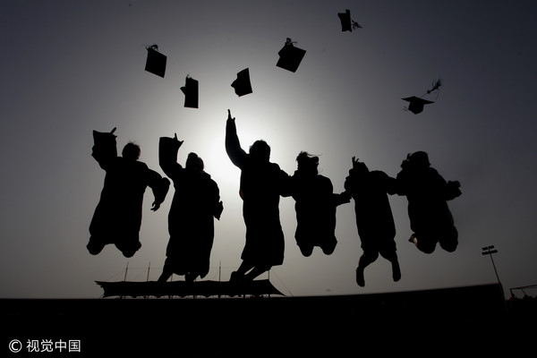 ▲碩士生、博士生、畢業生、高學歷示意圖。(圖/CFP)