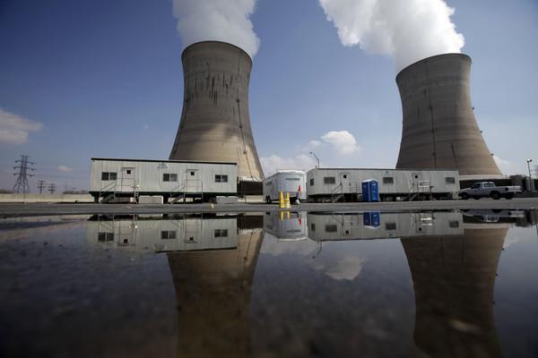 當年讓人聞之色變的「三哩島核電廠」。如今即將於兩年後全面關閉。(圖/達志影像/美聯社)