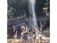 南投觀音瀑布有「20樓高飛瀑」 巧遇水中彩虹超唯美!