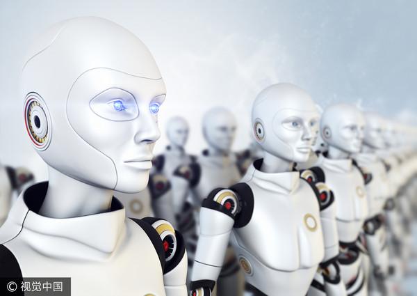 人工智慧,機械人,機器人,AI,軍隊,(圖/視覺中國CFP)