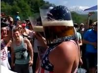 無法呼吸! 最狂啤酒比賽在這裡 看完讓你不要不要的