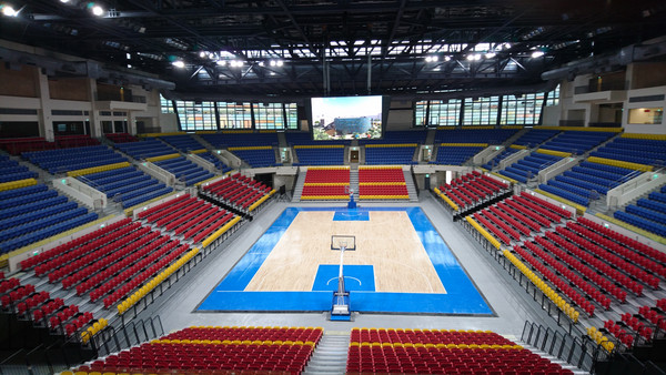 ▲台北和平籃球館(世大運籃球館)。(圖/世大運籌委會提供)