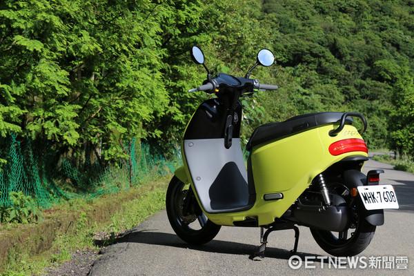 ▲Gogoro2電動機車試駕。(圖/記者張慶輝攝)