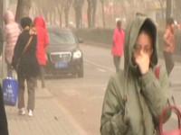 空氣變成土黃色! 北京沙塵暴恐襲台灣