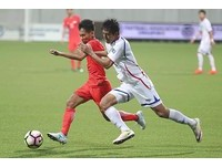 亞洲盃資格賽/賽前認為打不滿 洪子貴忘腳傷拼90分鐘