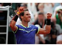 法網/納達爾生涯第10次摘冠 男網史上大滿貫單站最多