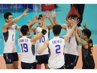 中華男排強攻擊退哈薩克 世界聯賽摘第9名