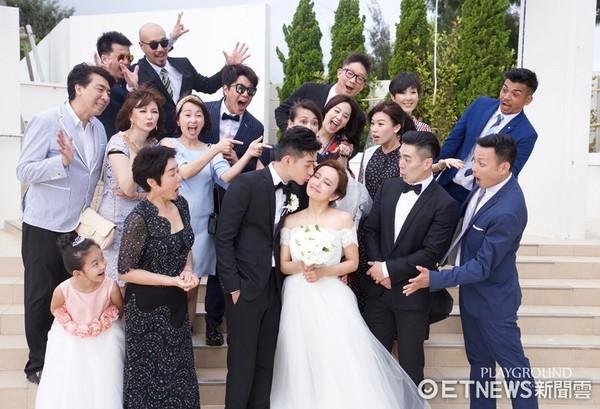 ▲愛紗和周洺甫沖繩婚禮。(圖/Ginza Couture Naoco提供)